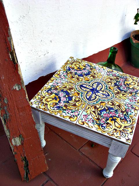 azulejos recuperados diy