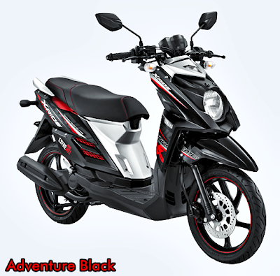 Yamaha X-Ride Terbaru 2015 Hitam Adventure Black