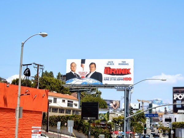 The Brink billboard Sunset Strip