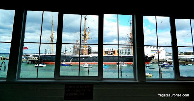 Estação Ferroviária de Portsmouth Harbour