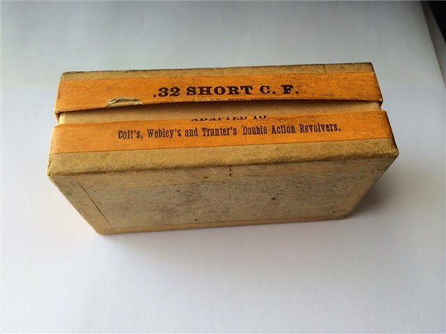 Side View of Win. 32 Cal Short Shot Cartridges CF