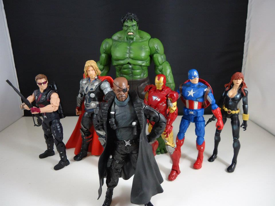 Idle Hands: Hasbro's 6 Inch Avengers Movie Figures