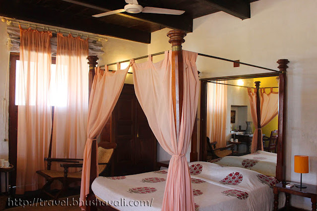 Neemrana Bungalow on the beach Tranquebar Rooms facilities