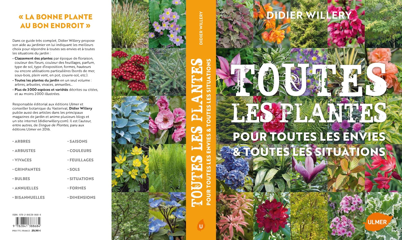 toutes les plantes mon nouveau livre