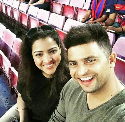 Indian Cricketers Unseen Photos: Suresh Raina & wife ...