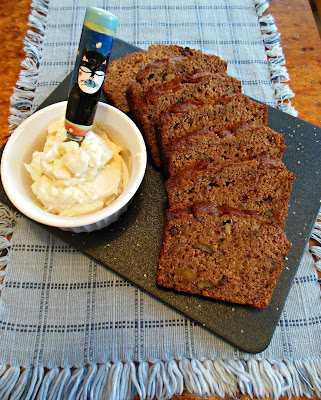 Simple Nut Bread, whole grain and naturally sweetened.