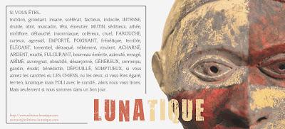 logo éditions Lunatique