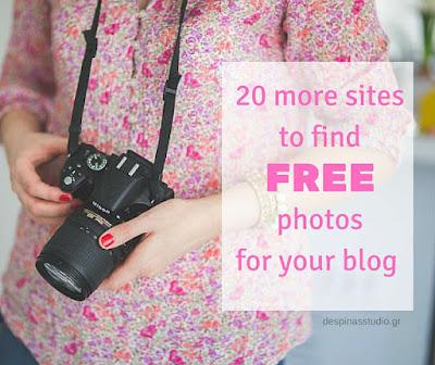 20 ακόμα site με δωρεάν και ελεύθερες φωτογραφίες για το blog σου