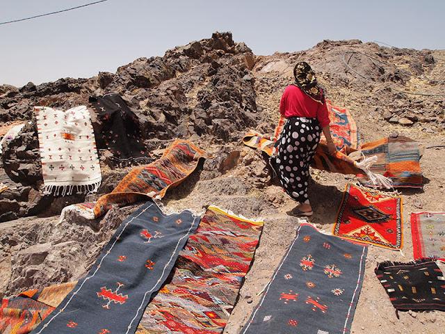 Expedición a las montañas de Marruecos: alfombras y pastores