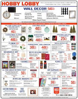 ⭐ Hobby Lobby Ad 9/22/19 ✅ Hobby Lobby Weekly Ad September 22 2019
