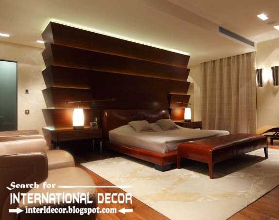 Wood Wall Panels And Paneling For Luxury Bedroom