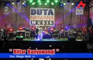 Lirik Lagu Blitar Banyuwangi - Mega Wati