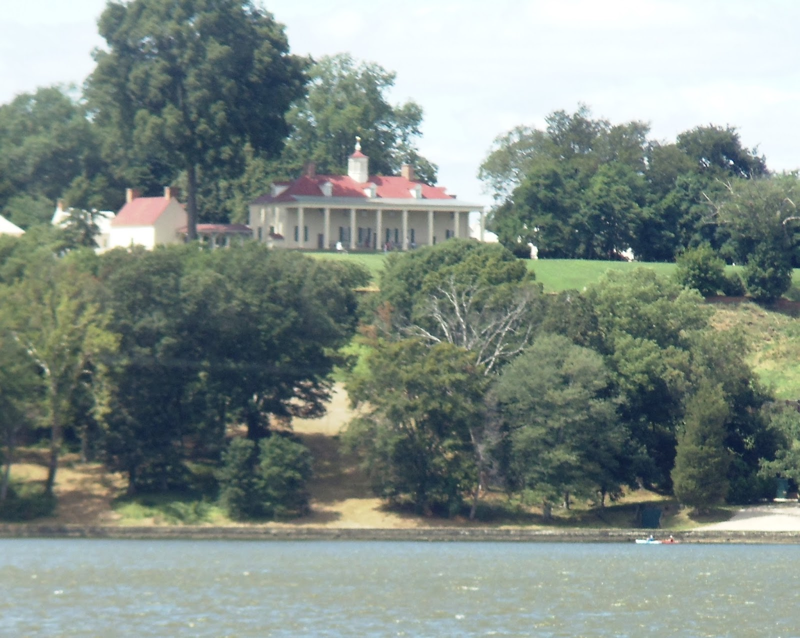 Rear view of Mount Vernon