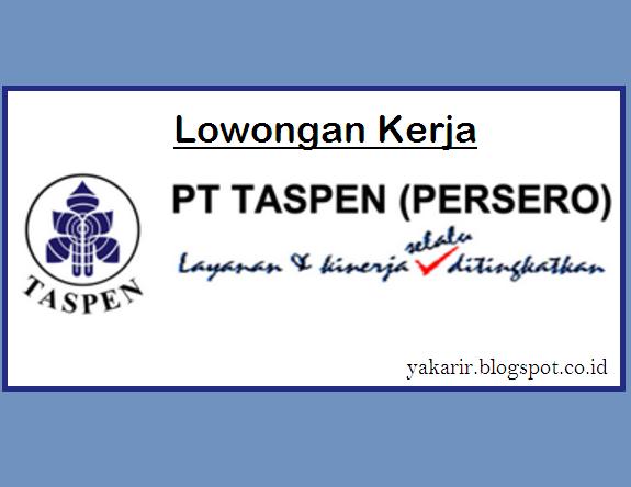 Lowongan PT Taspen tahun 2017