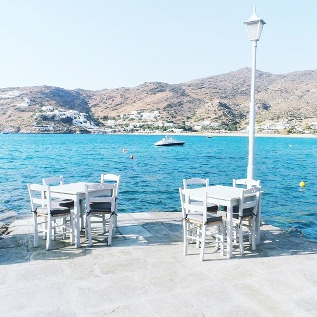 Drakos taverna,Mylopotas beach,Ios island