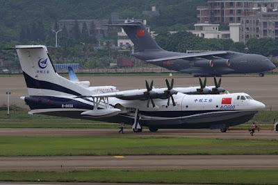 Pesawat Amfibi AVIC AG600 Kunlong