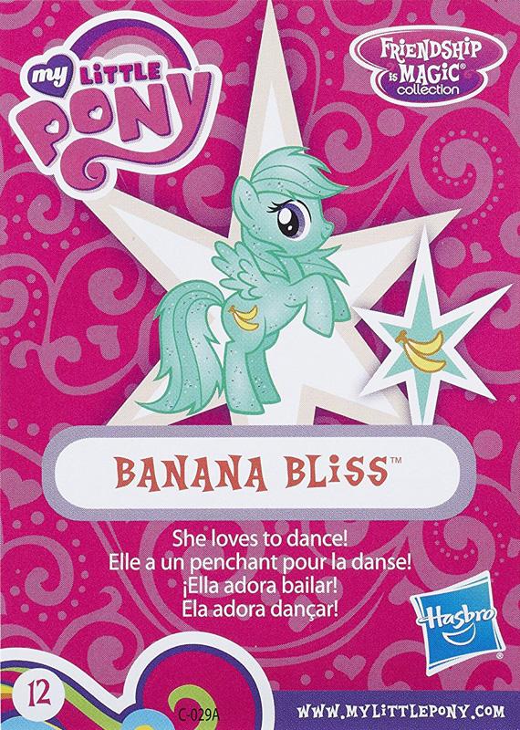 Mlp Banana Bliss Blind Bag Cards Mlp Merch
