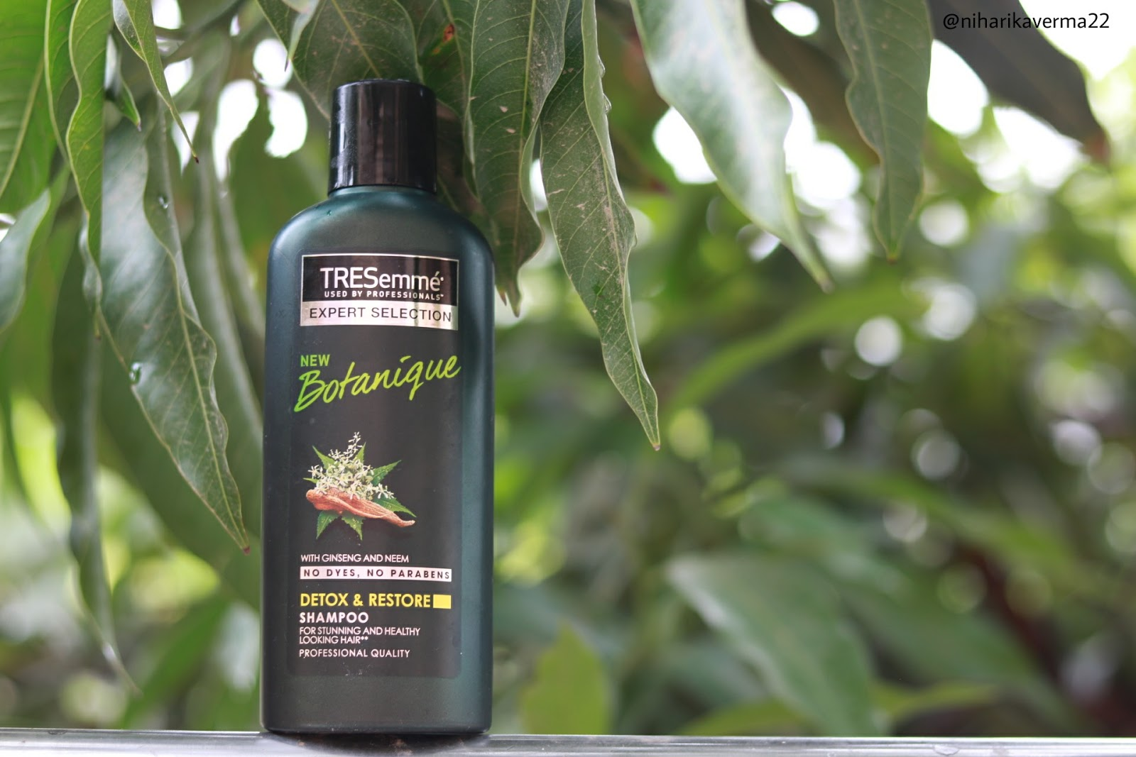 New Tresemme Botanique Detox and Restore Shampoo