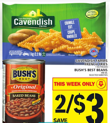 Hot Grocery Deal on Cavendish Farms Fries