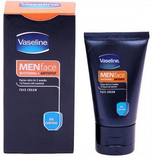 Pembersih muka Vaseline Men Anti Acne utk lelaki