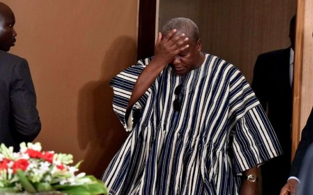 Students rise against President Mahama
