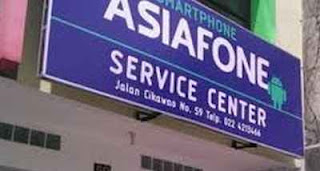 Alamat Service Center Asiafone di Seluruh Indonesia