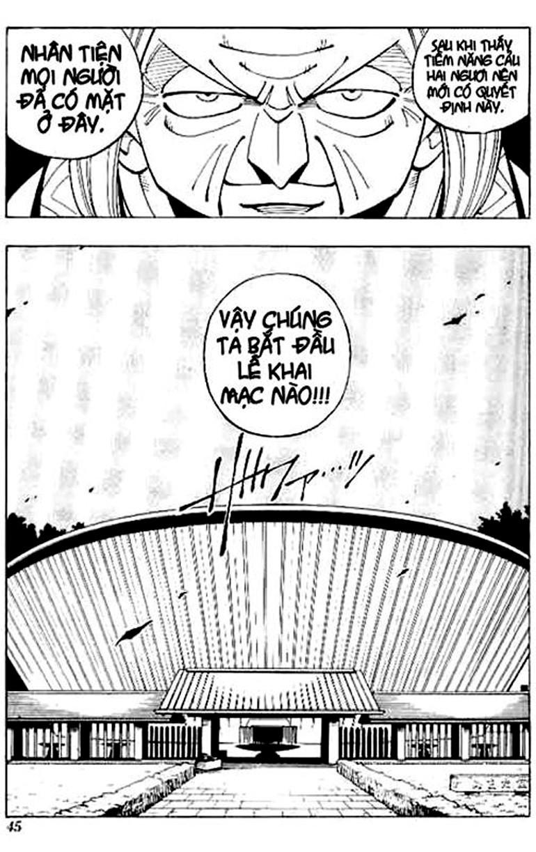 Shaman King [Vua pháp thuật] chap 64 trang 20