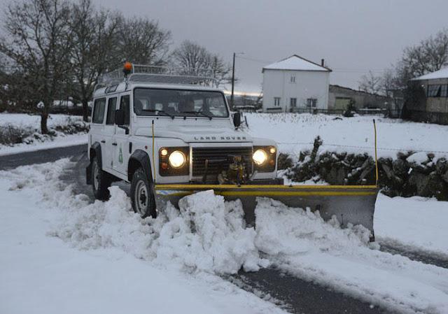 Land Rover quitanieves