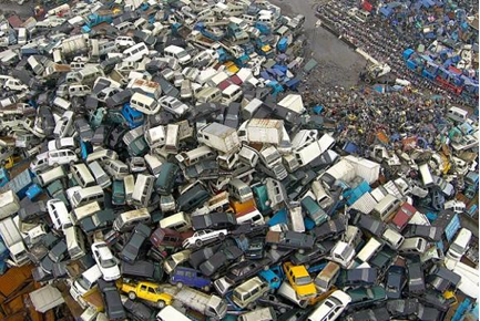 Scrap piles stack up as China cracks down on emissions