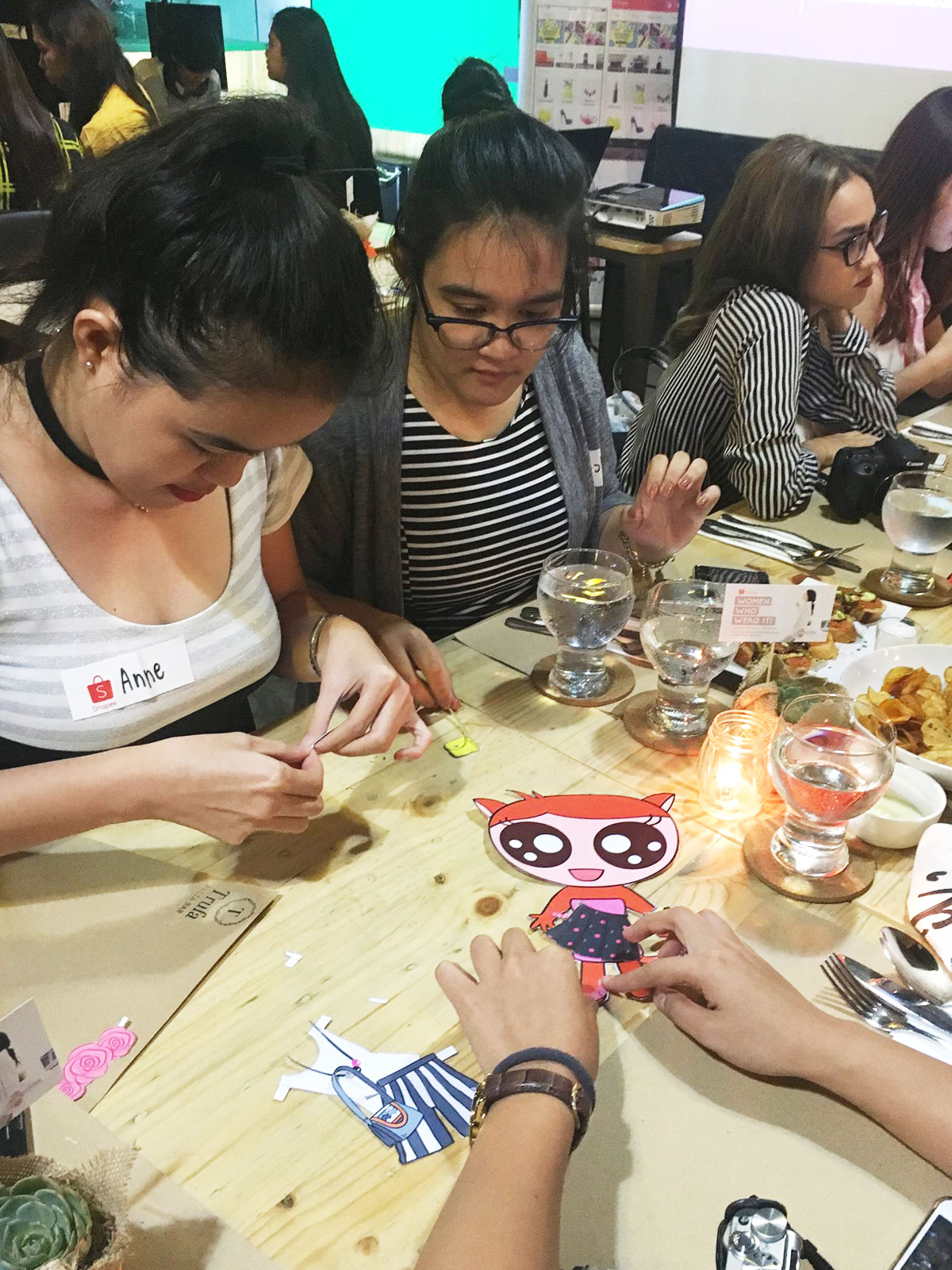 Shopee: Women Who Werq It with Camille Co   Anne's Scribbles and Doodles