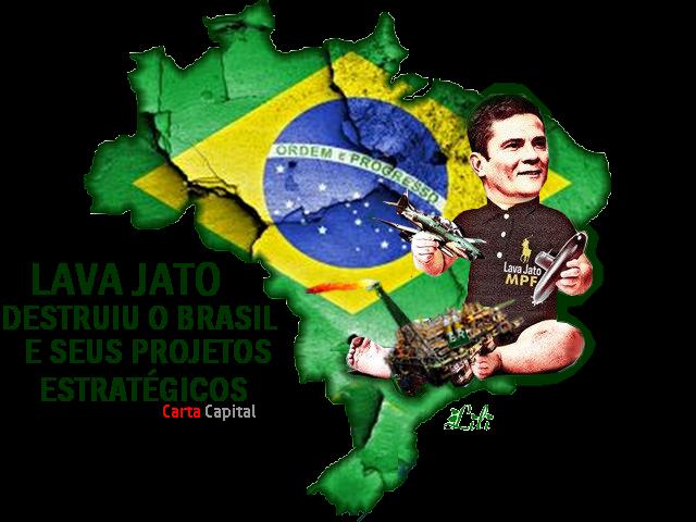 Resultado de imagem para lava jato destruiu o brasil