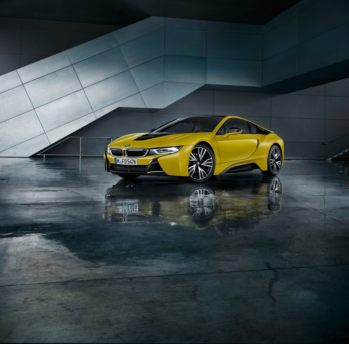 BMW I8 Protonic Frozen Yellow Edition Unveiled Ahead Of
