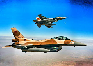 Moroccan Air Force F-16 goes to UAE