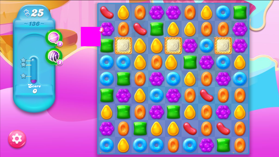Candy Crush Jelly Saga 136