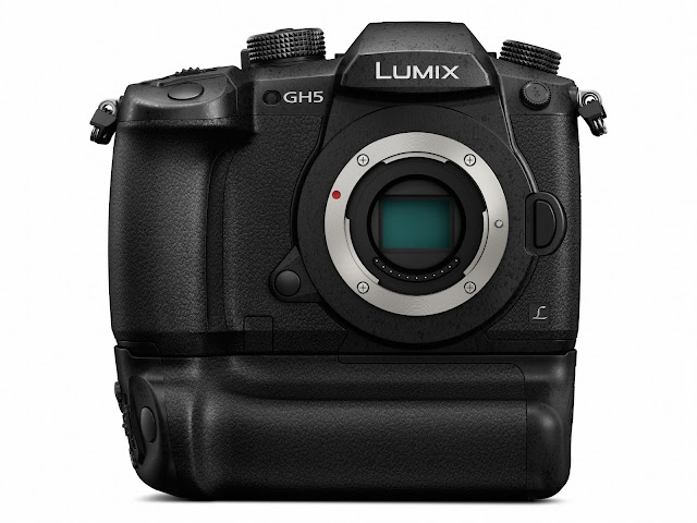 Panasonic Lumix GH5 Micro Four Thirds Mirrorless Camera with Battery Grip