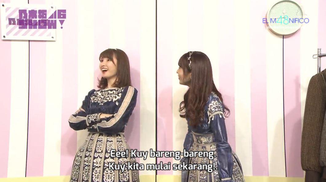 Variety] AKB48 SHOW! Episode 176 (Nogizaka46 SHOW!) (Subtitle Indonesia)