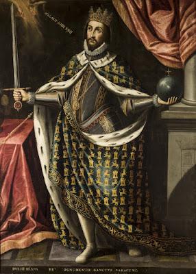 Fernando III el Santo - Atribuido a Ignacio de Ries  - Hacia 1650-60 - Ayuntamiento de Sevilla