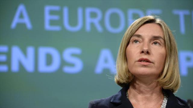 Mogherini ofrece apoyo de UE si se cumple alto el fuego en Siria