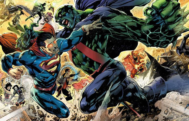 martian manhunter vs superman dc