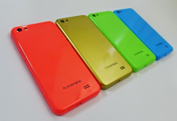Cloudfone GEO 402q Candy-Colored Back Covers