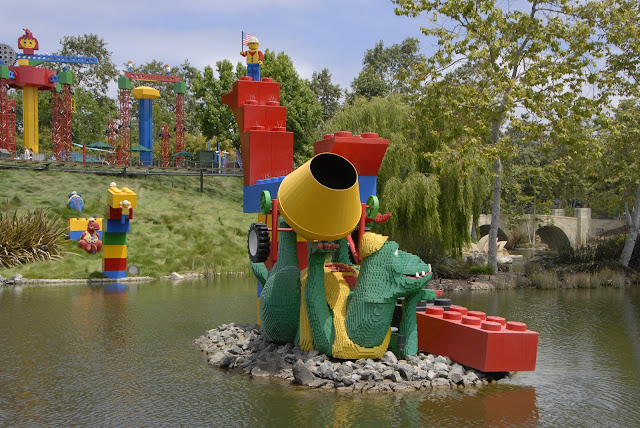 Dinosaur Land at Legoland: LadyD Books