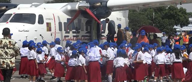 Panglima TNI Hadiri Penyematan Nama Pesawat Nurtanio