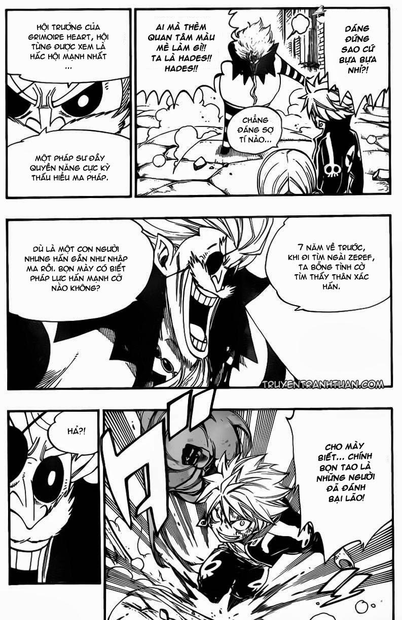 Fairy Tail chap 375 trang 8