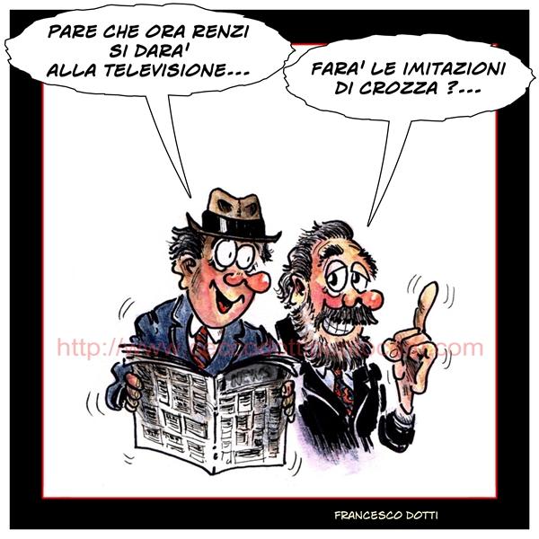 Renzi programma TV