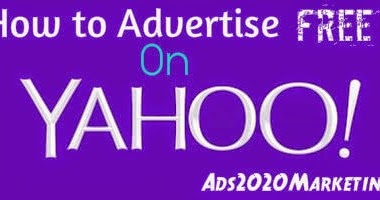 how to advertise on yahoo with free advertising and local