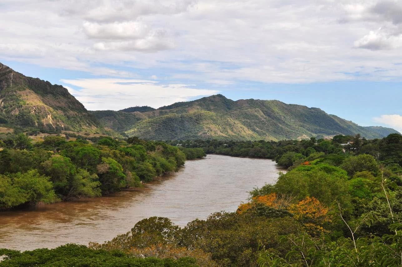 Rio Magdalena na Colômbia