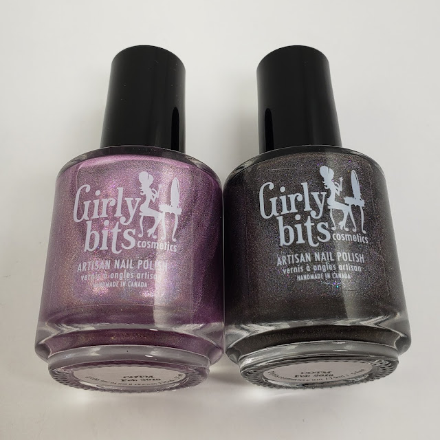 girly bits, cotm, budding romance, steel my heart, nail polish, indie polish