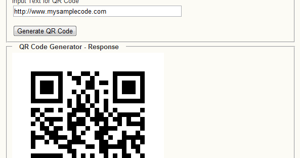 Programmers Sample Guide: Generate QR code using Java Example