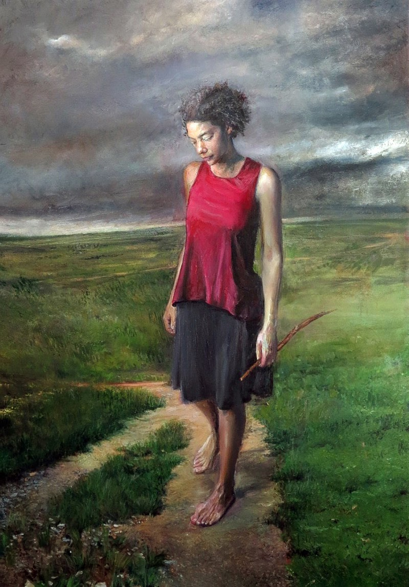 Figurative Paintings by Judith Peck.