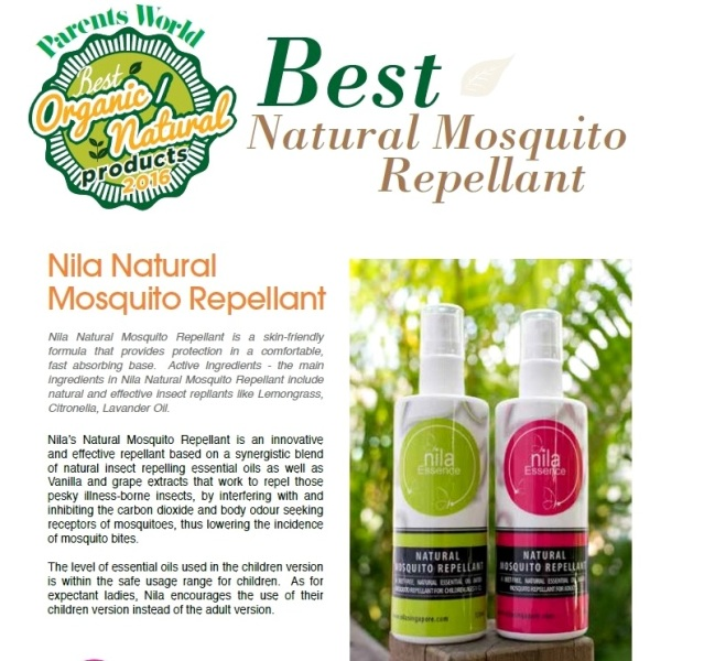 Prevent Dengue Fever With Nila Natural Mosquito Repellant